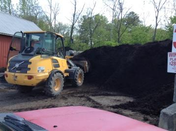One shovel full of a front loader= 1 scoop